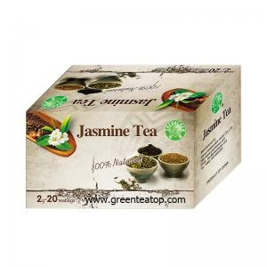 Box Packaging Green Tea with Jasmine