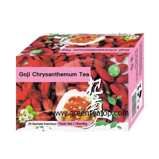 China Chinese Goji Chrysanthemum Tea Chinese Goji Chrysanthemum Tea For Sale