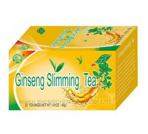Ginseng slimming tea