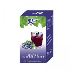 Blueberry Flavored Instant Powder Drink