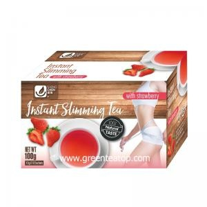 Weight Loss instant strawberry  slimming tea