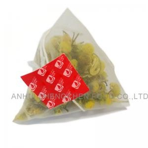 chrysanthemum nylon pyramid teabags